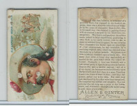 N19 Allen & Ginter, Pirates of the Spanish Main, #27 Alex. Bras-De-Fer