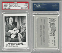 "1964 Leaf, The Munsters, #36 ""Every-Body Loves Some-Body, PSA 9 Mint"