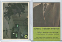 1966 Donruss, Green Hornet, #11 The Black Beauty Entering
