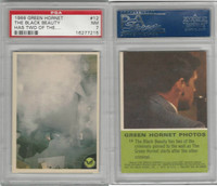 1966 Donruss, Green Hornet, #12 The Black Beauty Has Two Of The, PSA 7 NM