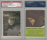 1966 Donruss, Green Hornet, #13 There He Goes! Screams Kato, PSA 6 EXMT