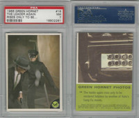 1966 Donruss, Green Hornet, #16 The Leader Again Rises Only To Be, PSA 7 NM