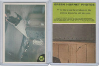 1966 Donruss, Green Hornet, #17 As The Green Hornet Closes In