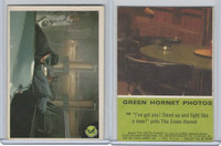 "1966 Donruss, Green Hornet, #18 ""I've Got You! Stand Up And Fight"