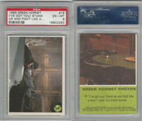 "1966 Donruss, Green Hornet, #18 ""I've Got You! Stand Up And Fight, PSA 6 EXMT"