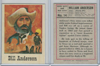 1966 Leaf, Good Guys and Bad Guys, #14 Bill Anderson