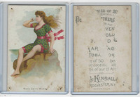 N192 Kimball, Beautiful Bathers Large, 1891, Mont Saint Michael