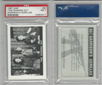 1967 Leaf, Garrison's Gorillas, #60 Time Running Out, PSA 7 NM