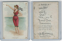 N192 Kimball, Beautiful Bathers Large, 1891, Boulogne