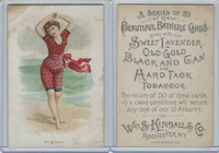 N192 Kimball, Beautiful Bathers Large, 1891, Brighton