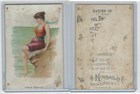 N192 Kimball, Beautiful Bathers Large, 1891, Greve De' Azette