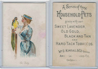 N194 Kimball, Household Pets, 1891, Pet Polly