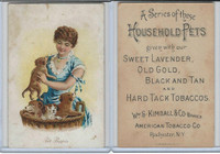 N194 Kimball, Household Pets, 1891, Pet Puppies