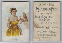 N194 Kimball, Household Pets, 1891, Pet Dove