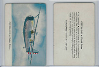R112-4 Leaf, Card-O Aeroplanes - Series C, 1940's, Curtiss O-52
