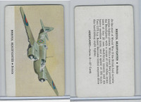 R112-5 Leaf, Card-O Aeroplanes - Series D, 1940's, Bristol Beaufighter