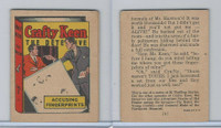 R25 American Chicle, Thrilling Stories, 1930's, Crafty Keen, #2 Accusing