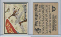 1950 Topps, Bring 'Em Back Alive, #12 Flight Over The Jungle, Giraffe