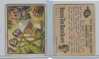 1950 Topps, Bring 'Em Back Alive, #13 Lost Among The Head Hunters