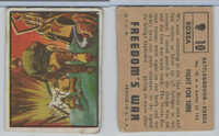 1950 Topps, Freedoms War, #10 Fight For Time