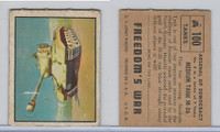 1950 Topps, Freedoms War, #100 Medium Tank M-26