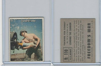 1950 Topps, Freedoms War, #110 Loading The Cannon