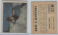 1950 Topps, Freedoms War, #122 Snow Fighter