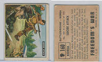 1950 Topps, Freedoms War, #160 Suicide Attack