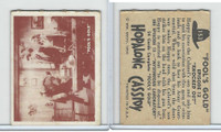 1950 Topps, Hopalong Cassidy, #153 Knocked Out