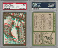 1953 Topps, Tarzan & The She Devil, #10 The Lion Leaps, PSA 6 EXMT