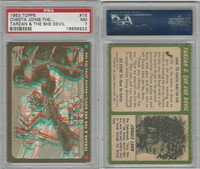 1953 Topps, Tarzan & The She Devil, #15 Cheeta Joins the Fun, PSA 7 NM
