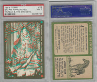 1953 Topps, Tarzan & The She Devil, #22 The Safari Approaches, PSA 7 NM