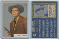1953 Topps, Who-Z-At Star?, #15 Scott Brady