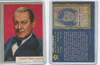 1953 Topps, Who-Z-At Star?, #23 Lionel Barrymore
