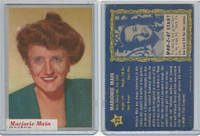 1953 Topps, Who-Z-At Star?, #25 Marjorie Main
