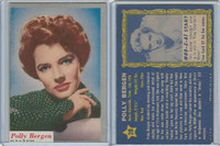 1953 Topps, Who-Z-At Star?, #28 Polly Bergen