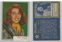 1953 Topps, Who-Z-At Star?, #29 Pier Angeli
