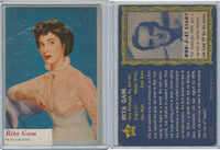 1953 Topps, Who-Z-At Star?, #60 Rita Gam