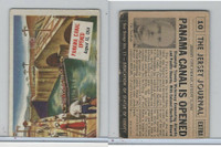 1954 Topps, Scoop, #10 Panama Canal Opened