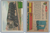 1955 Topps, Rails & Sails, #10 Ballast Dump Car
