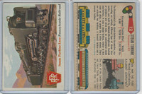 1955 Topps, Rails & Sails, #12 Steam Turbine Loco, Pennsylvania Rail
