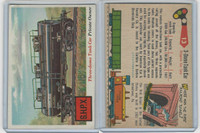 1955 Topps, Rails & Sails, #13 3-Dome Tank Car