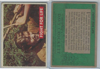 1956 Topps, Davy Crockett Green Back, #30A Fight For Life