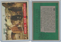 1956 Topps, Davy Crockett Green Back, #51A How's Our Chances?