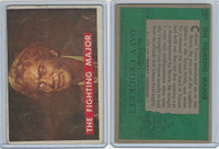 1956 Topps, Davy Crockett Green Back, #52A The Fighting Major