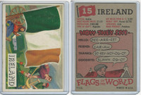 1956 Topps, Flags of the World, #15 Ireland