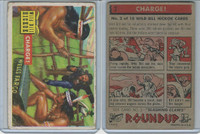 1956 Topps, RoundUp, #2 Charge!, Wild Bill Hickok