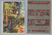 1956 Topps, RoundUp, #13 Indian Attack, Calamity Jane