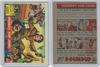 1956 Topps, RoundUp, #16 Hooray For Jane!, Calamity Jane