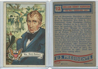1956 Topps, U.S. Presidents, #12 William Henry Harrison